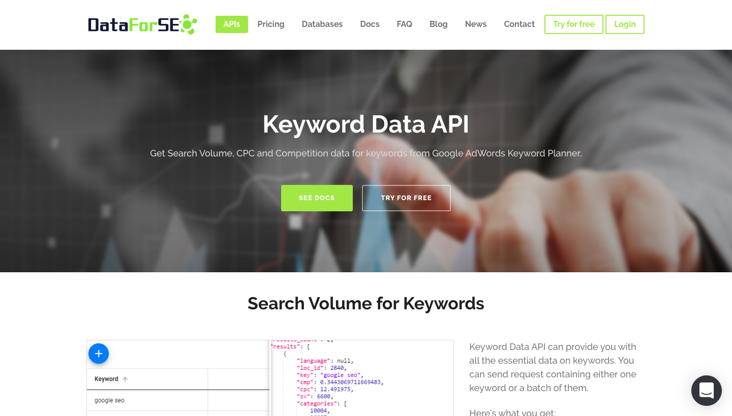 word image 11 - List of Best API for keyword research