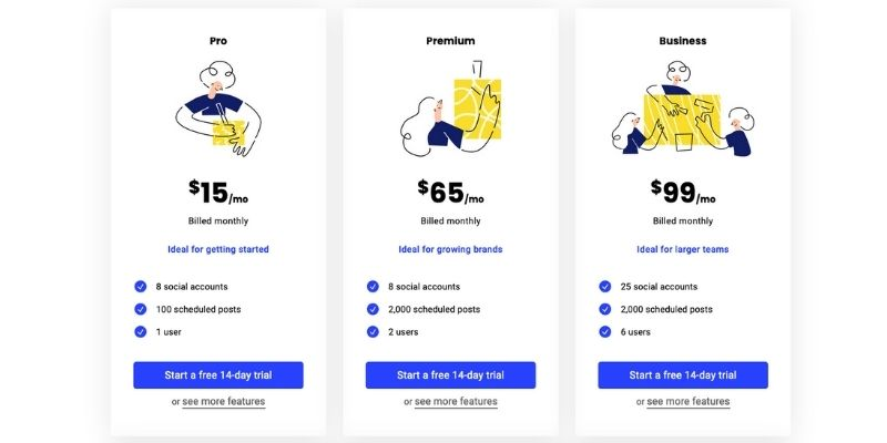buffer pricing and features