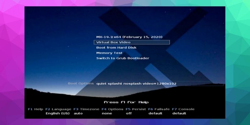MX Linux boot menu - How to install MX Linux With Windows in 2021: Step by Step