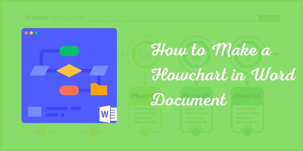 How to Make a Flowchart in Word document