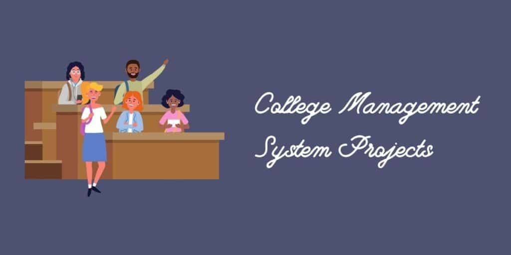 College management system SQL projects