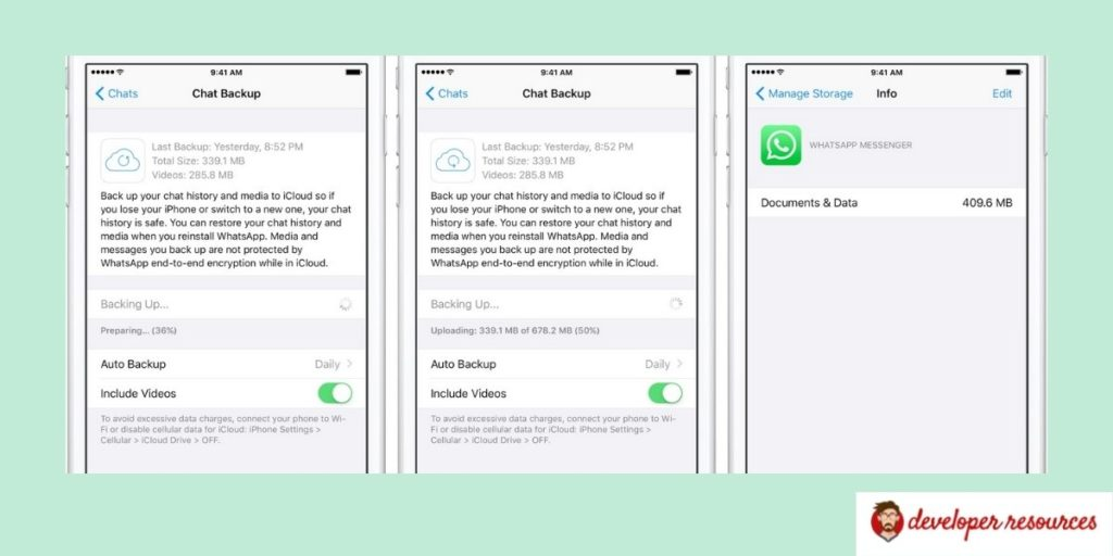 restore backup from iCloud to iPhone