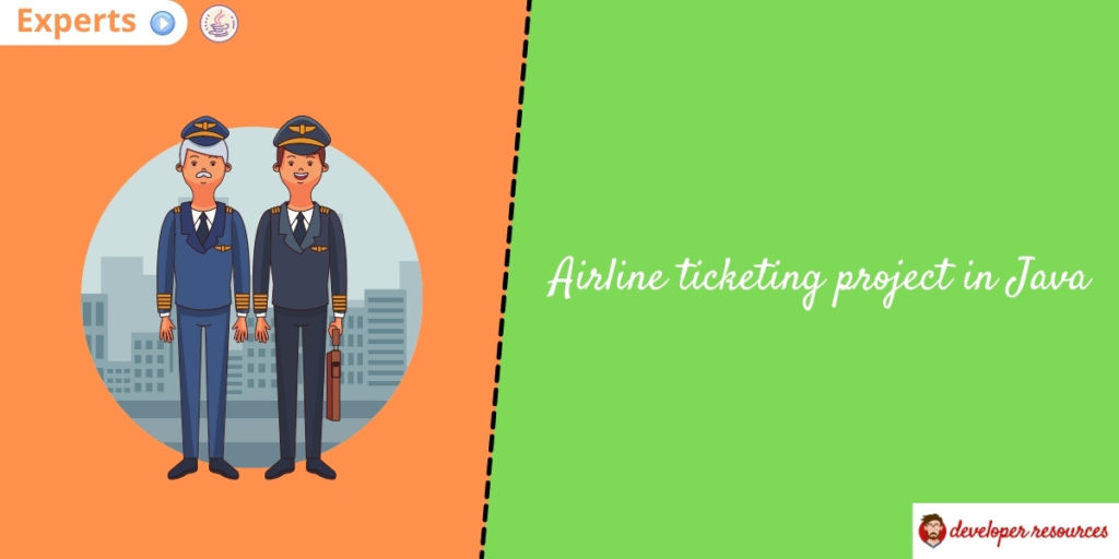 airline ticketing project in java