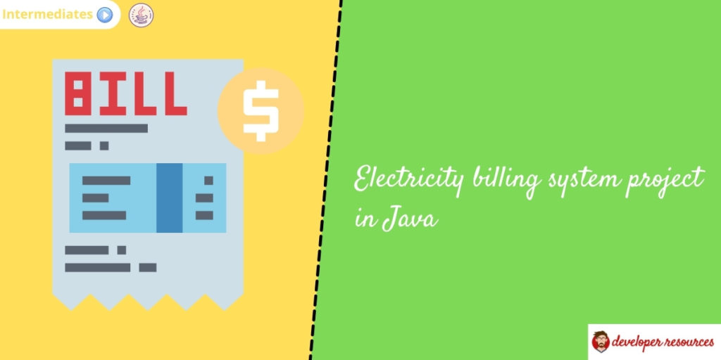 electricity billing system in java