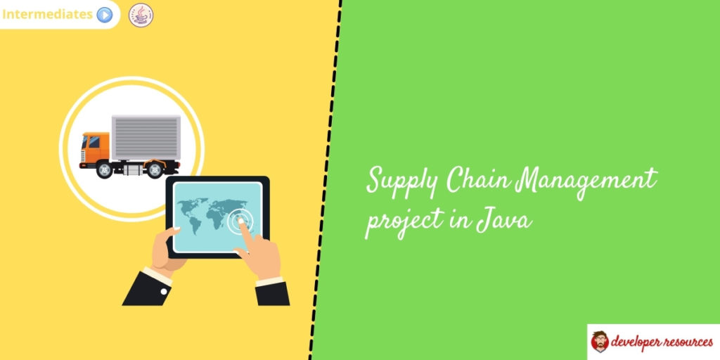 supply chain management project in java
