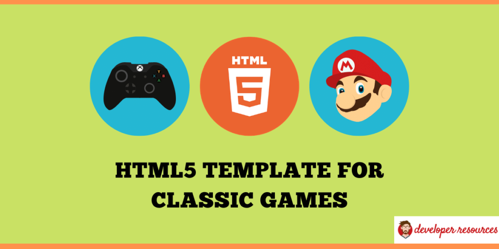 game templates for HTML5