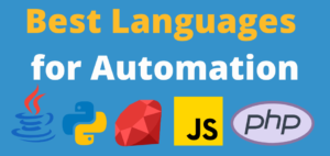 Best Langugae for Automatation 1 - Home page