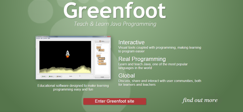 Greenfoot Java IDE for Linux OS