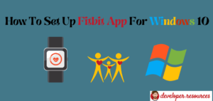 How To Set Up Fitbit App For Windows 10 - Home page