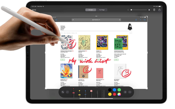 Apple iPad Pro 2020- Costly, but has excellent features.