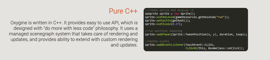 Pure C++ 2D Game Engine