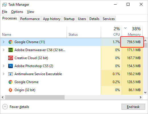 image 92 - Firefox vs Chrome memory usage; Which Browser Should You Choose In 2021
