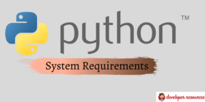 What Are The Ideal Computer Specs For Python Programming - Home page