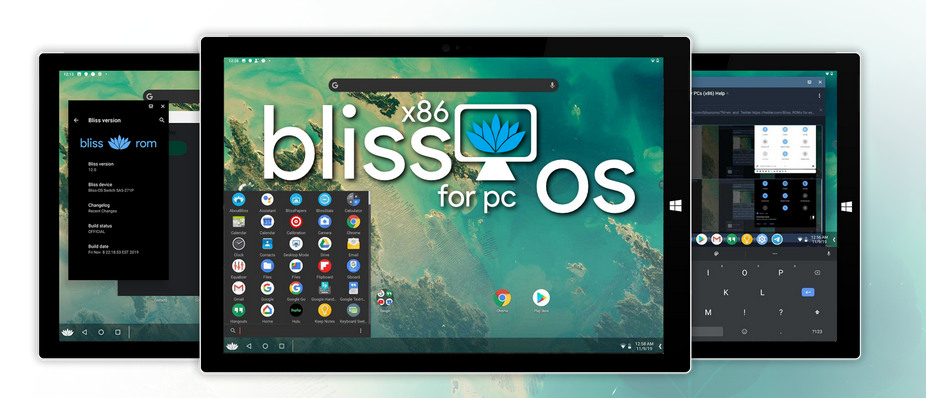 Bliss OS - Android for your PC