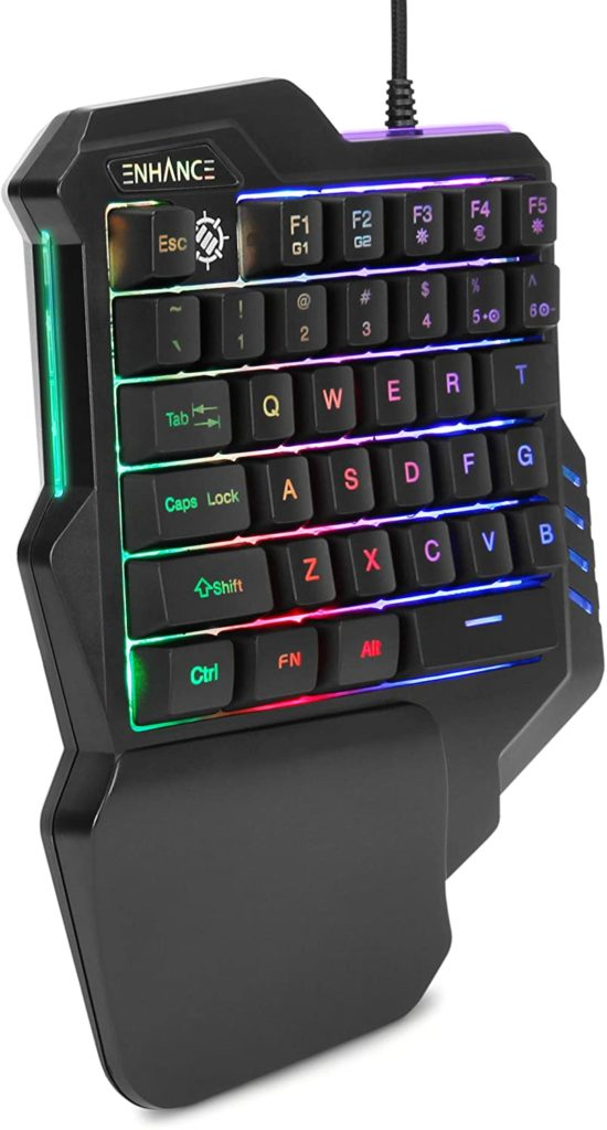 71qI8PnZmcL. AC SL1500 - Best one-handed Gaming keyboards of 2021