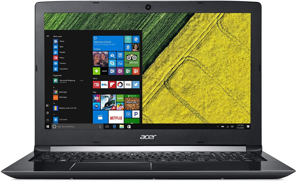 Acer Aspire 15 Inch laptop - Best 15-inch Laptops 2021- for programmer students and gamers