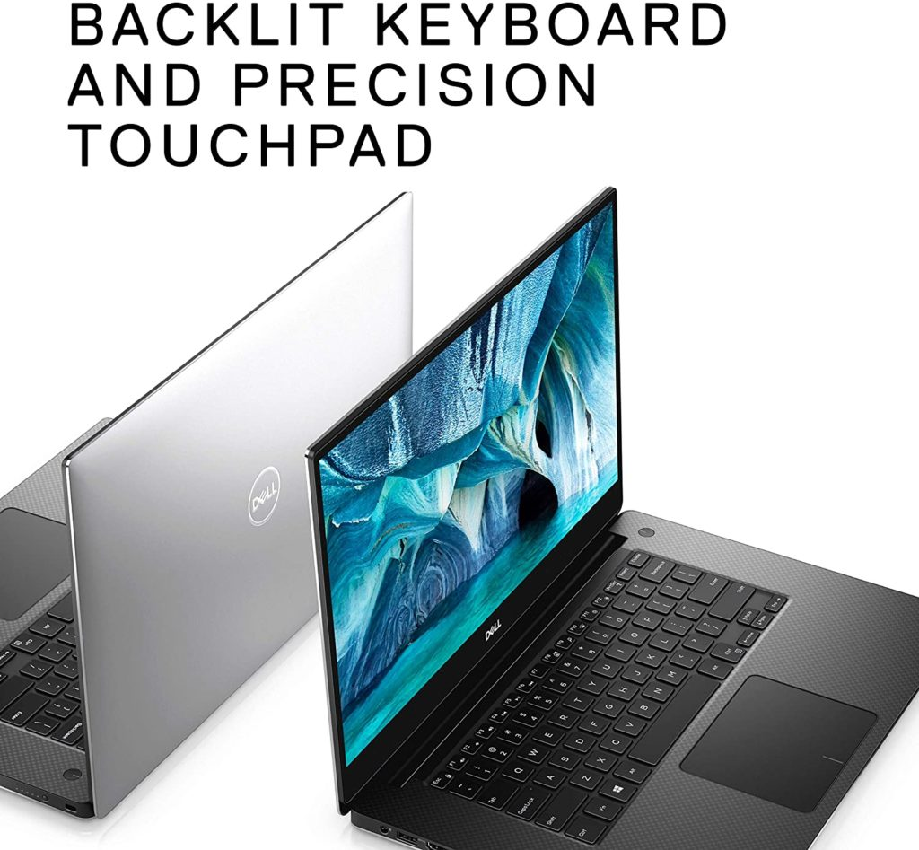 Dell XPS 15 7590 Laptop 15.6 - Best 15-inch Laptops 2021- for programmer students and gamers