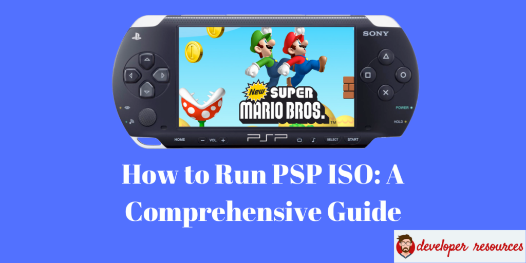 How to Run PSP ISO