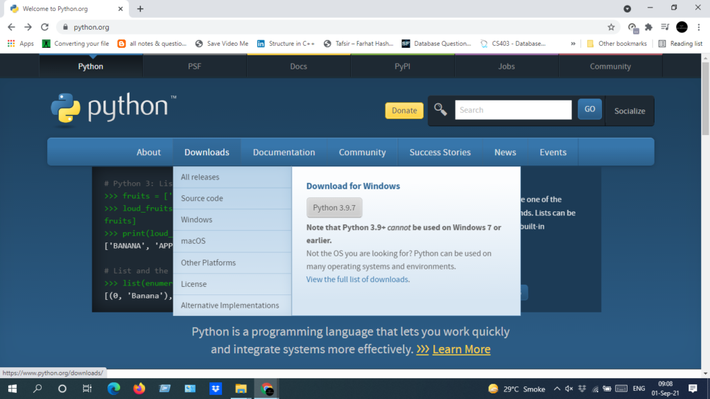 image 1 - How to update Python in Windows, Mac, and Linux