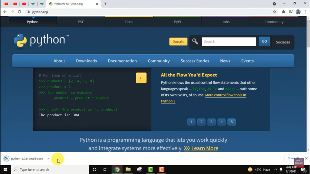 image 3 - How to update Python in Windows, Mac, and Linux