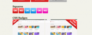 jQuery Photoshop buttons CSS3