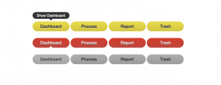 jQuery Animated Navigation Button